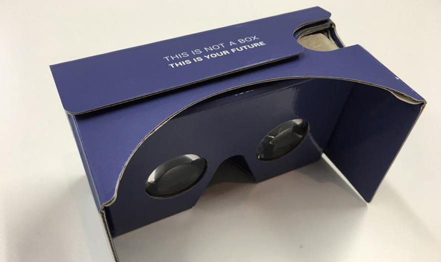 Google Cardboard voor Virtual Reality