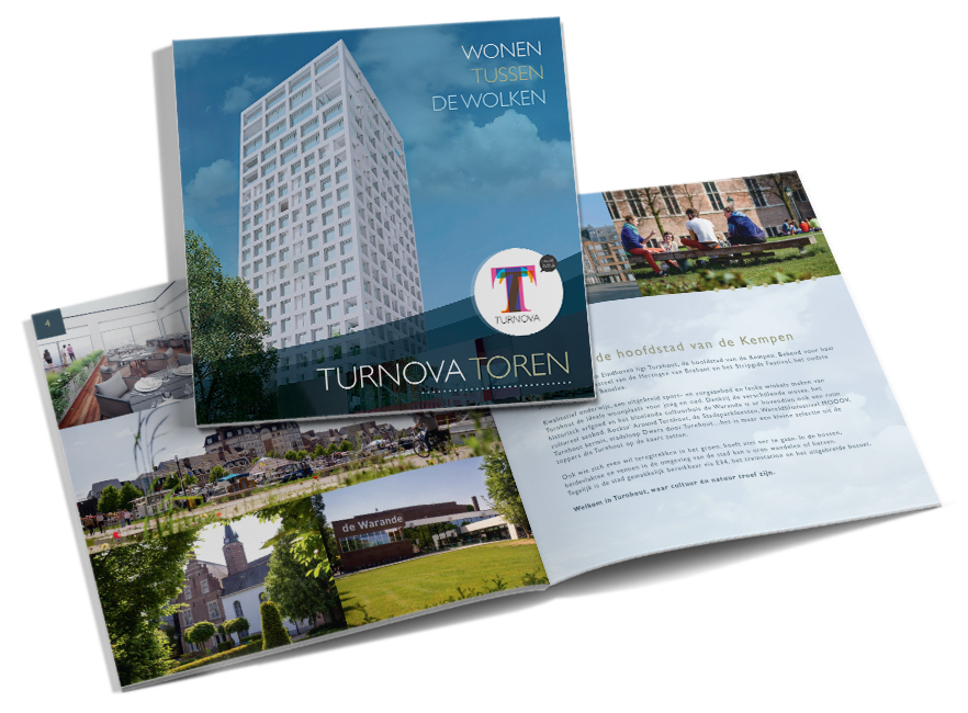 Turnova Toren bouwbrochure